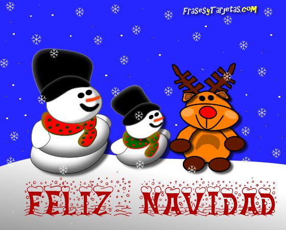 tarjetas de navidad, reno y nieve