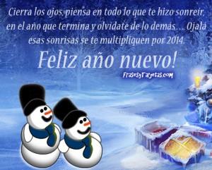 Tarjeta de año nuevo 2014