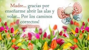 Feliz dia de la madre con mensaje corto