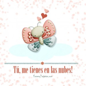 Feliz San Valentin - Mariposa