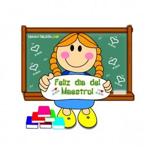 Tarjetas y postales del dia del maestro