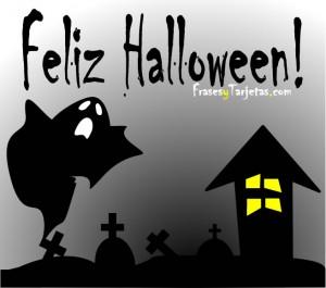 Feliz Halloween con Fantasma