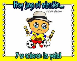 Imágenes de hoy juega mi selección Colombia