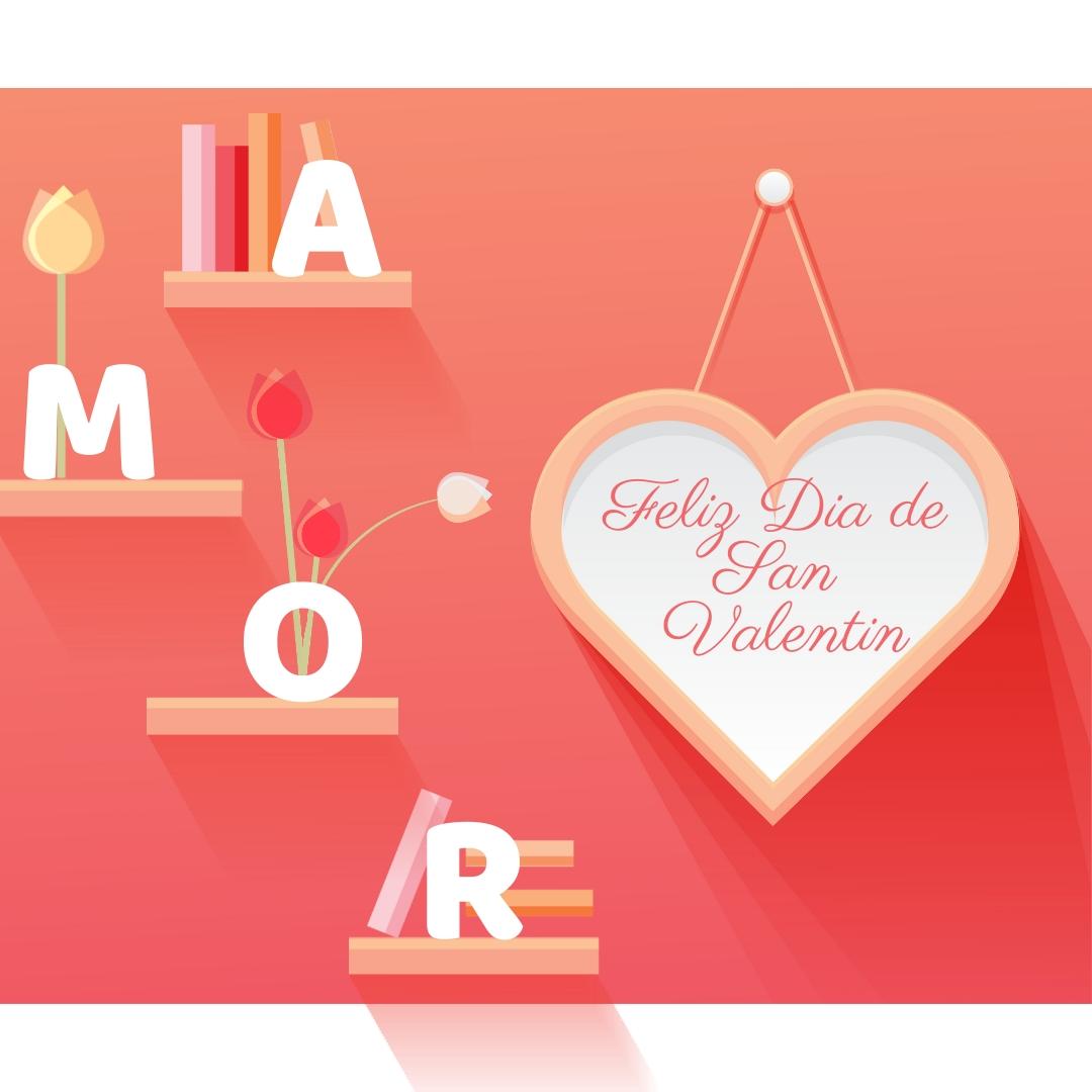 Tarjeta De San Valentin Corazones