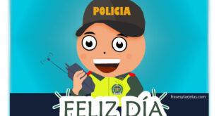 Tarjetas día del Policia