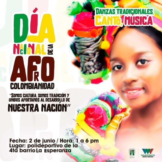 dia afro en colombia